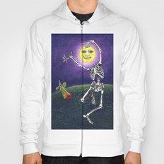 Skeleton Moon Hoody