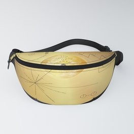 Voyager 1 Golden Record #1 Fanny Pack