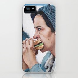 Jughead Jones Eats a Burger - Riverdale iPhone Case