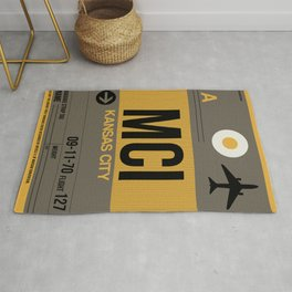 MCI Kansas City Luggage Tag 1 Rug