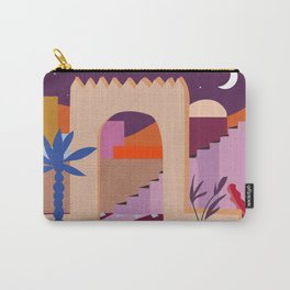 Moroccan Pink Carry-All Pouch