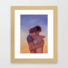 Hold Close Framed Art Print