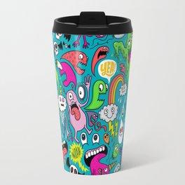 Monster Party Travel Mug