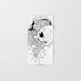 Skull (Pushing Up Daisies) Hand & Bath Towel