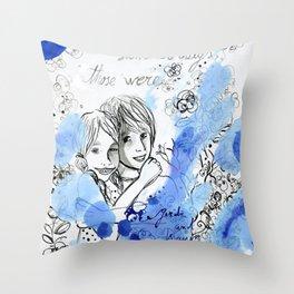 Glorious summer days Throw Pillow