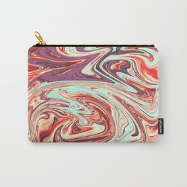 Abstract Texture Pattern 03 - Marbled Carry-All Pouch