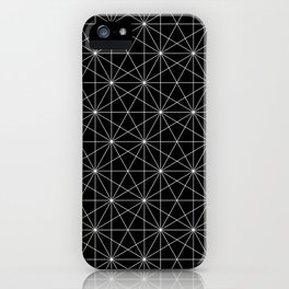Intersected lines iPhone Case