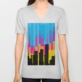 Skyline 10 Unisex V-Neck