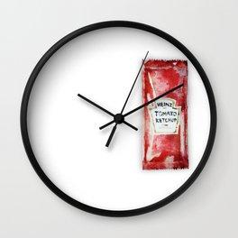 Tomato Ketchup Wall Clock