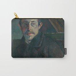 """Paul Gauguin - Self-portrait """"Gauguin devant son chevalet"""" (1885) Carry-All Pouch"""