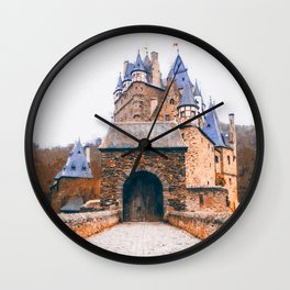 Eltz Castle Wall Clock