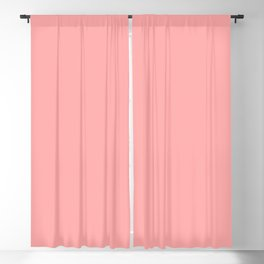 Spring - Pastel - Easter Pink Solid Color Blackout Curtain