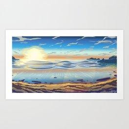 Cox Bay, Tofino Art Print