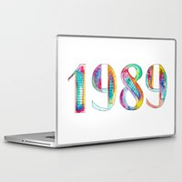 1989 Laptop & iPad Skins featuring 1989 by Christina Guo
