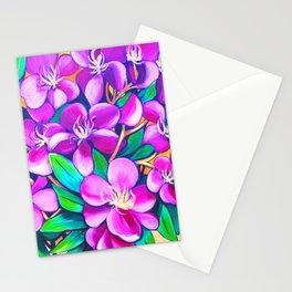 Tibouchina Stationery Cards