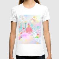 rave T-shirts featuring PINK RAVE by Haiku Felix