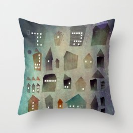 Find your house Throw Pillow