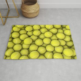 Tennis balls Rug