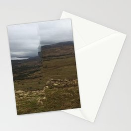 distorted munro Stationery Cards