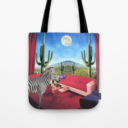 Saguaro Stripes Tote Bag