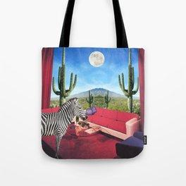 Saguaro Stripes Tote Bag