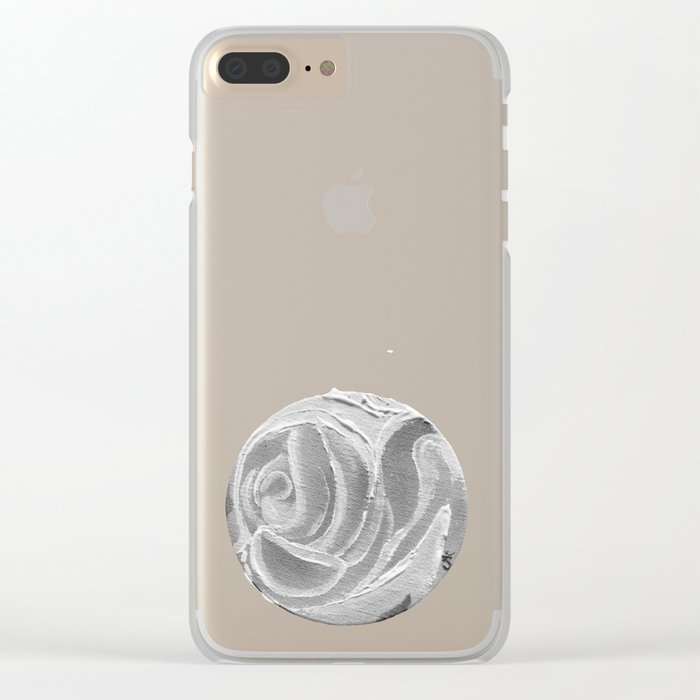 Sunday Memories of Roses Clear iPhone Case