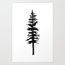 Bc_tree Art Print