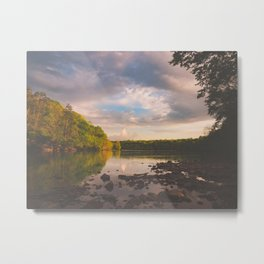 Sope Creek, Georgia Metal Print