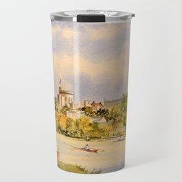 Windsor Castle And River Thames Travel Mug