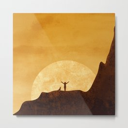 Dreaming sunset Metal Print