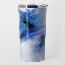 Dolphins Freedom Travel Mug