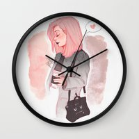 laia Wall Clocks featuring Coffee Luv by Laia™