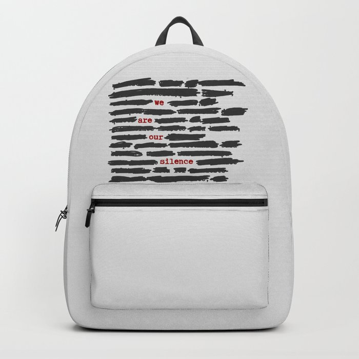 We are our silence Backpack