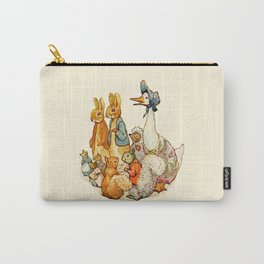 Bedtime Story Animals Carry-All Pouch