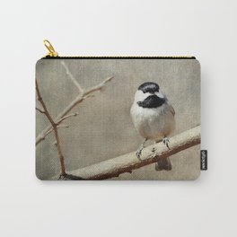 Black-capped Chickadee Carry-All Pouch