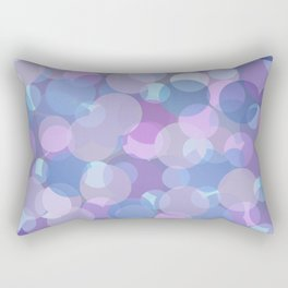 Pastel Pink and Blue Balls Rectangular Pillow
