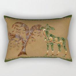 Deer One Rectangular Pillow