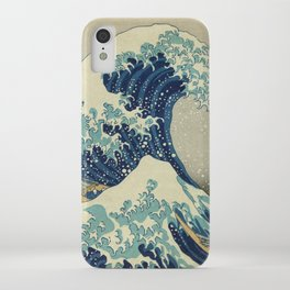 The Great Wave off Kanagawa iPhone Case
