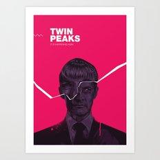 Twin Peaks 2017 Art Print