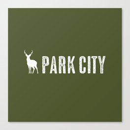 Utah: Park City Deer Canvas Print