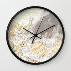 fluid Wall Clock