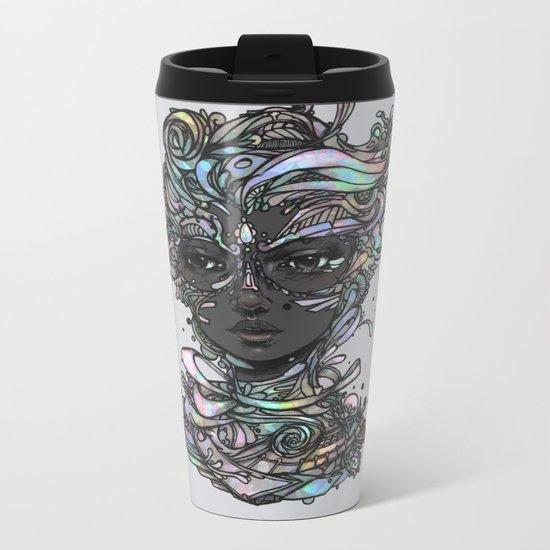 Interplay of Color Metal Travel Mug