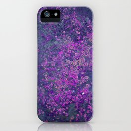 Purple Moss iPhone Case