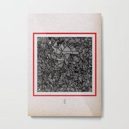 - closed - Metal Print