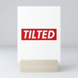 Tilted Mini Art Print