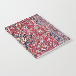 Bijar Kurdish Northwest Persian Rug Notebook