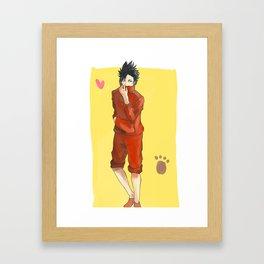 Haikyuu!! - Kuroo Tetsurou Framed Art Print