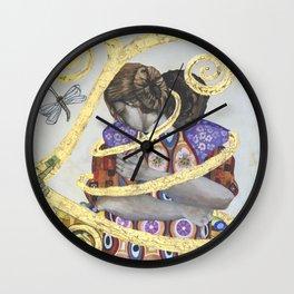 Embracing Love 3 Wall Clock