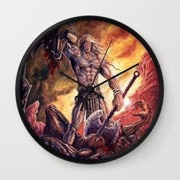The Magic Warrior Wall Clock