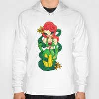 poison ivy Hoodies featuring Poison Ivy by JennaJennaBatman
